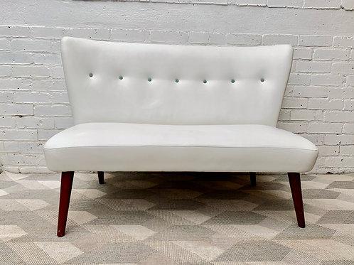 Designers Guild White Sofa Mid Century Style #D45