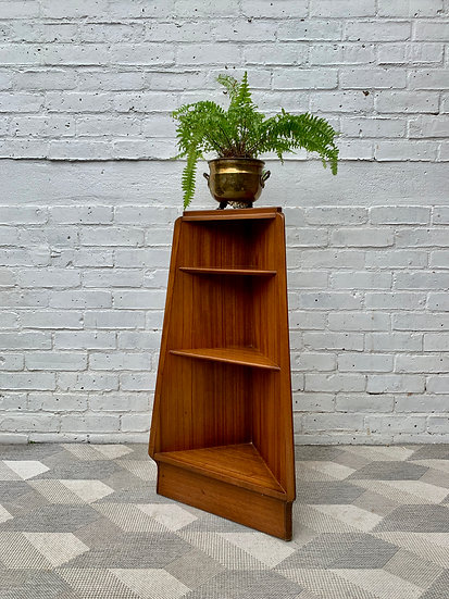 Small G Plan Corner Unit Teak Shelves #D37