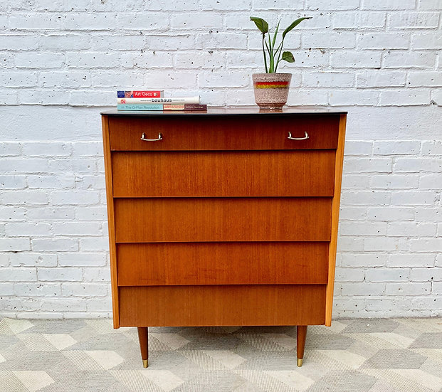Vintage Chest of Drawers by Avalon #D340