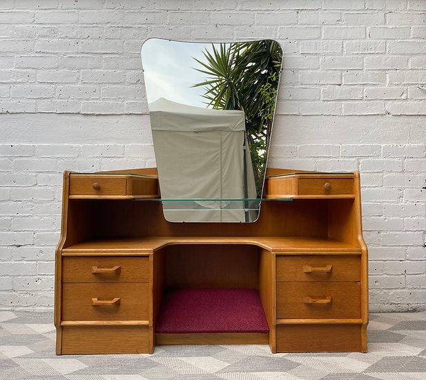 Vintage G Plan Dressing Table with Mirror