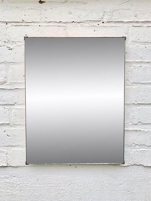 Vintage Rectangular Wall Mirror Small #D318