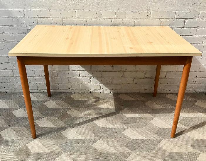 Vintage Dining Table Desk Formica #810