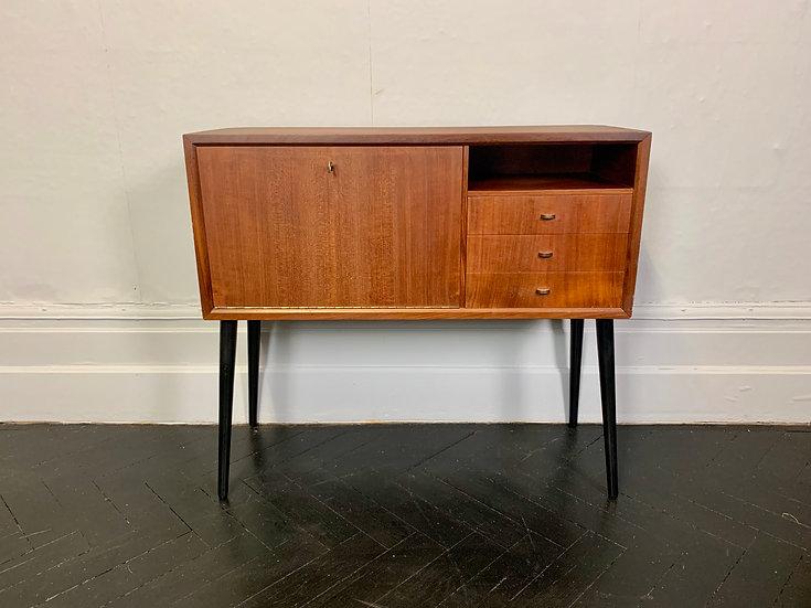 Vintage Sideboard Drawers Cupboard Danish Royal System #920