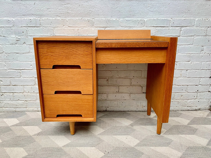 Vintage Dressing Table Desk with Drawers by Stag #D445