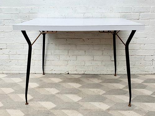 Vintage Kitchen Dining Table Formica
