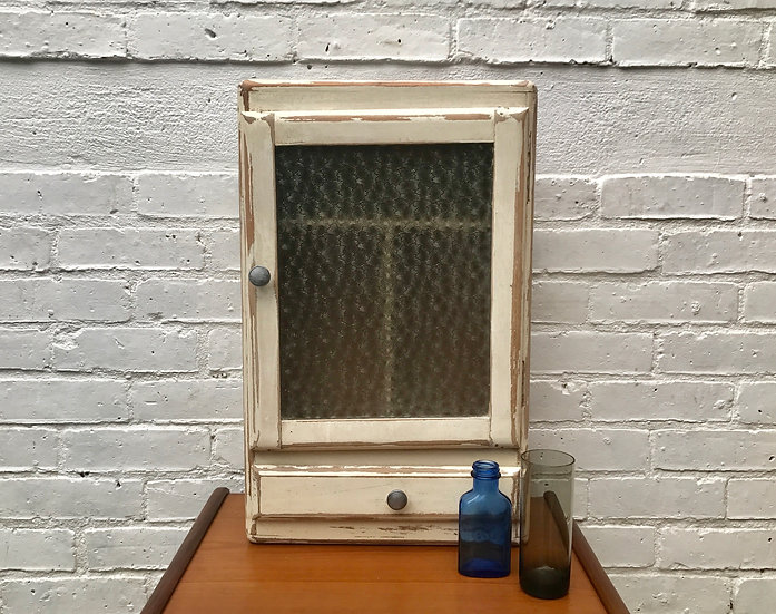 Vintage Bathroom Medicine Cabinet 1960s #187