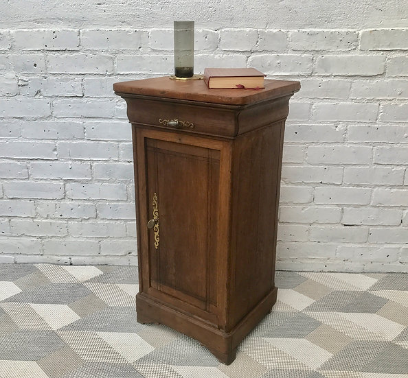 Victorian Bedside Cabinet Cupboard Brass Handles #442