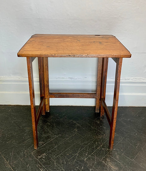 Vintage Folding School Desk #D67