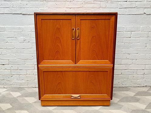 Vintage G Plan TV Media Cabinet Teak #D456