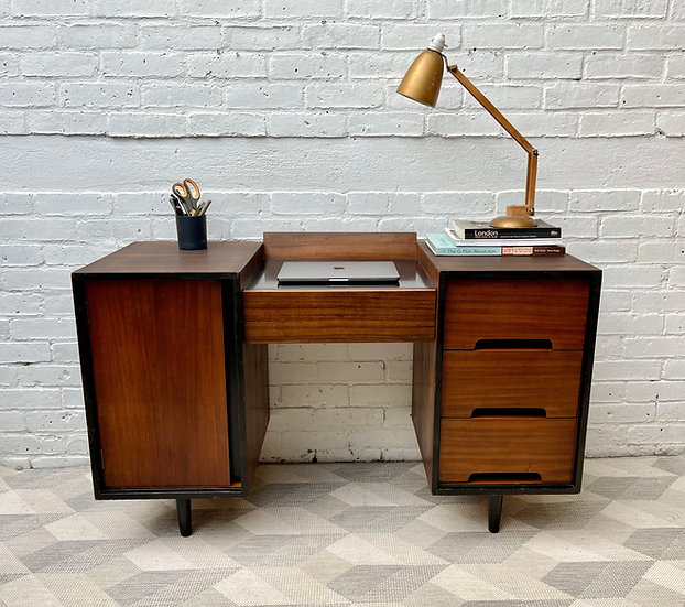 Vintage Dressing Table Desk with Drawer by Stag C Range style