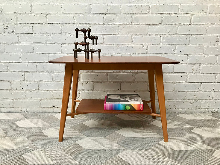 Mid Century Coffee Side Table by Vanson #576