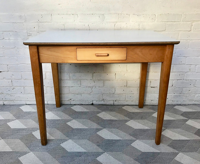 Vintage Retro Kitchen Dining Table Desk #529