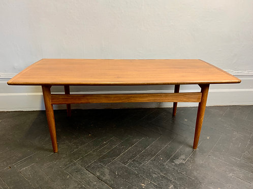 Vintage Teak Coffee Table #984