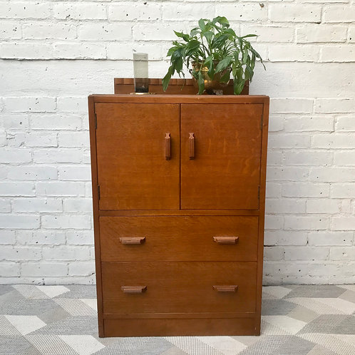 Vintage Cupboard Drawers Cabinet E.Gomme #512