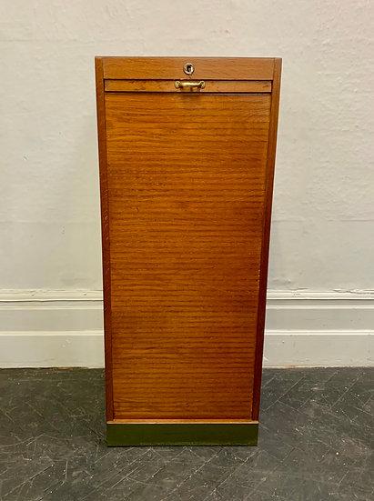 Vintage Filing Cabinet Tambour Haberdashery #D79