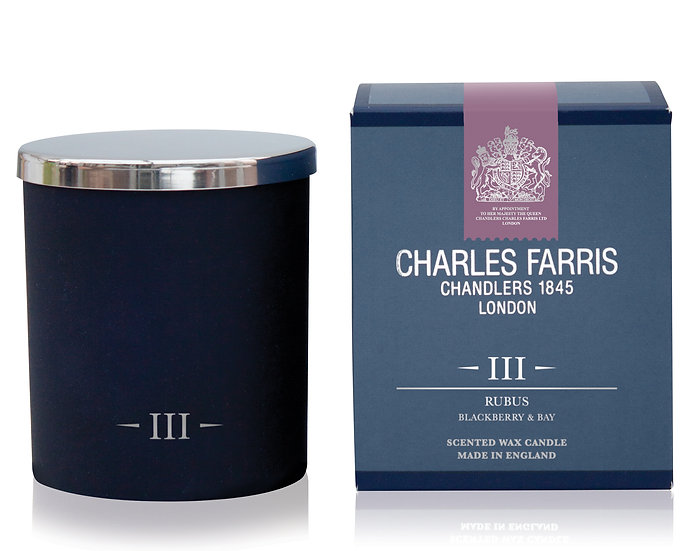 Rubus Scented Candle - Charles Farris front view