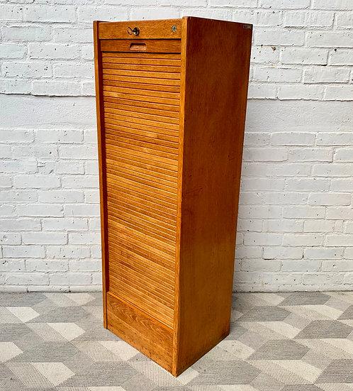 Vintage Filing Cabinet Tambour Haberdashery Corner