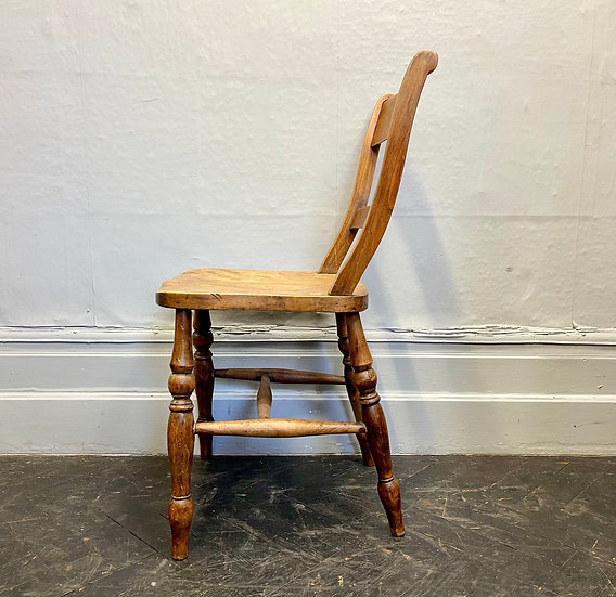 Victorian Wooden Kitchen Dining Chair