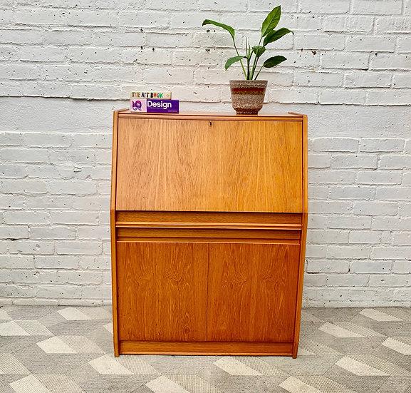 Vintage Bureau Cabinet Desk by Remploy