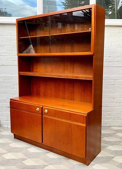 Vintage Bookcase Sideboard Highboard by McIntoch