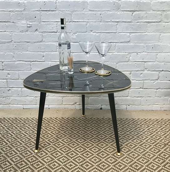 Retro 50s Triangle Shaped Coffee Table #198