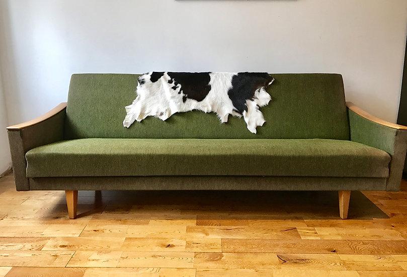 VINTAGE RETRO GREEN SOFA BED