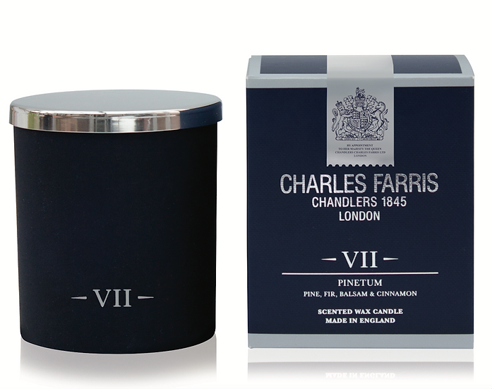 Pinetum Scented Candle Charles Farris front