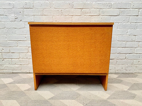 Vintage Blanket Box Storage Chest by Meredew #D433