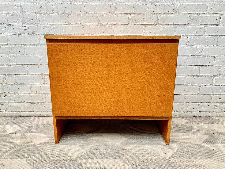 Vintage Blanket Box Storage Chest by Meredew #D433