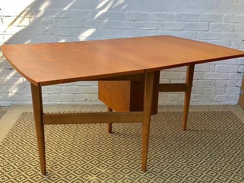Vintage Retro Gateleg Folding Dining Table #355