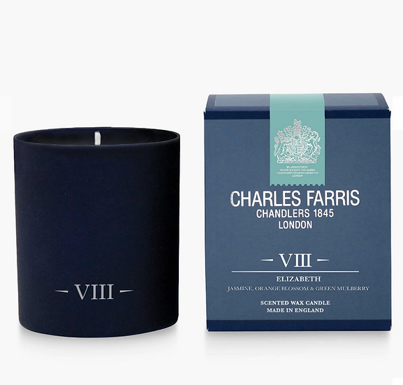 Elizabeth Scented Candle - Charles Farris front view
