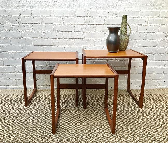 Nest of Vintage G Plan Side Tables #382