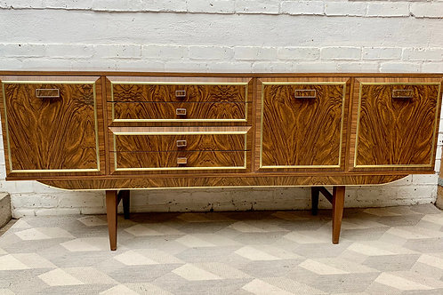 Vintage Sideboard with Drinks Cabinet with Drawers