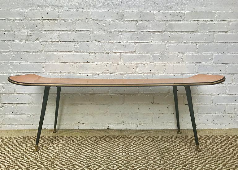 Vintage Retro Long Coffee Table #413
