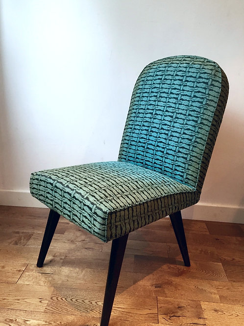 1950's Ca VINTAGE BLUE CHAIR