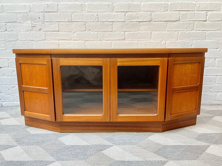 Vintage TV Cabinet Stand Sideboard by Nathan Parker Knoll