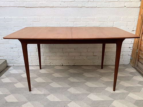 Vintage Teak Extending Dining Table by A.H Mcintosh