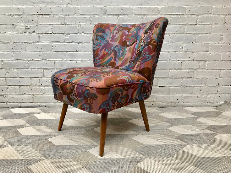 Vintage Retro Cocktail Side Chair #544