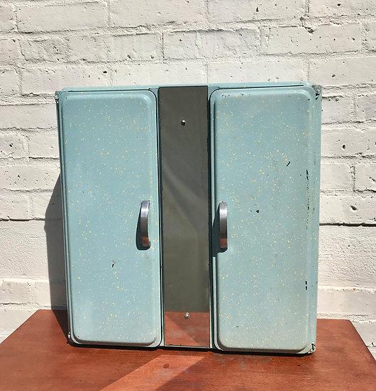 Vintage Bathroom Medicine Cabinet Metal #800
