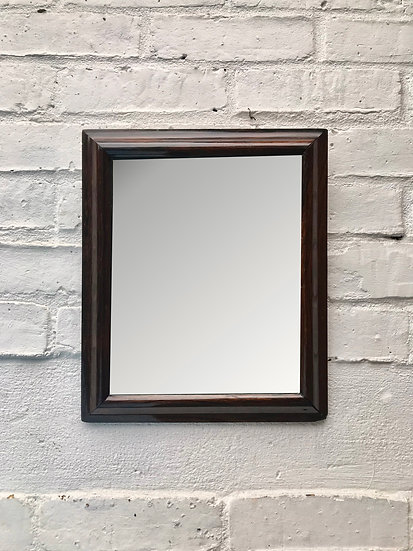 Antique Wall Mirror Rosewood Small #813