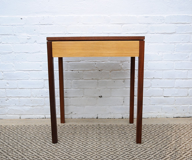 WRITING DESK WITH TOP DRAWER