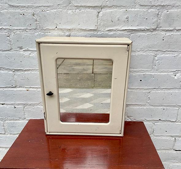 Vintage Small Medicine Cabinet Mirror #897