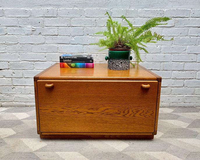 Vintage Deep Oak Drawer unit by Stag #D432