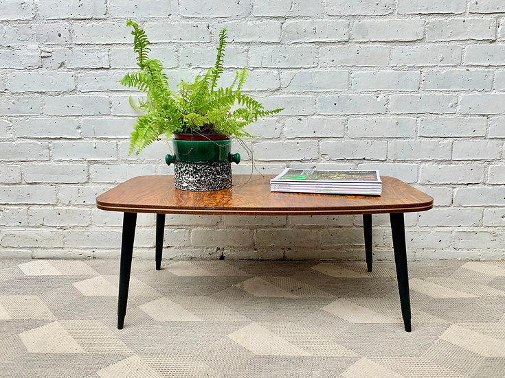 Vintage Coffee Table Formica #D410