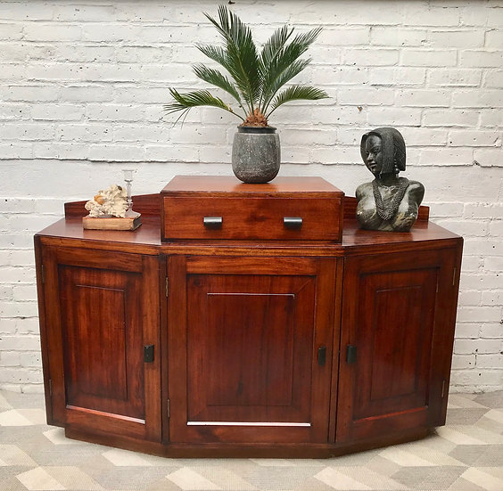Vintage Art Deco Style Sideboard Cabinet #717