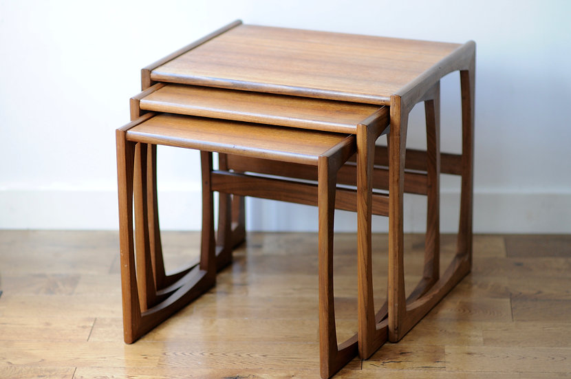 G PLAN NEST OF 3 TABLES