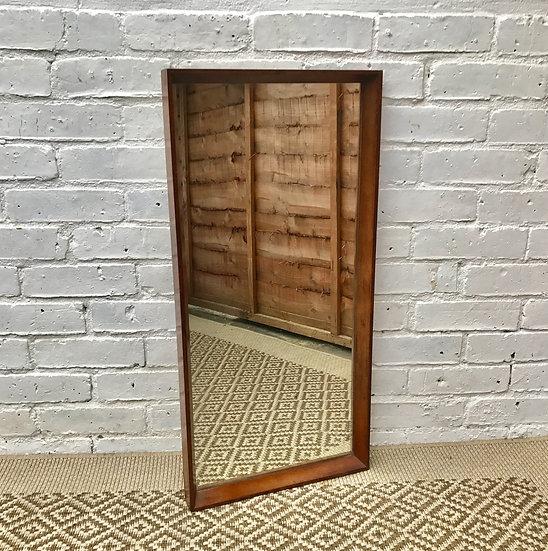 Retro Rectangular Mirror Wood Frame #401