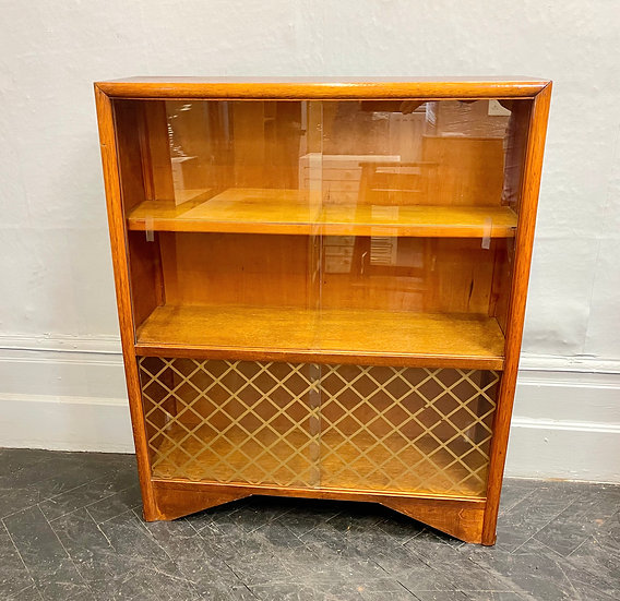 Vintage Bookcase Glass Cabinet