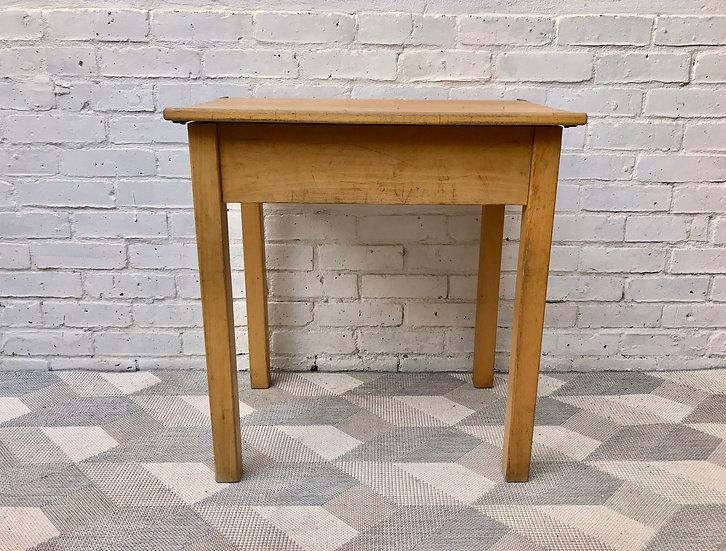 Vintage Retro Childs School Desk Wooden #683