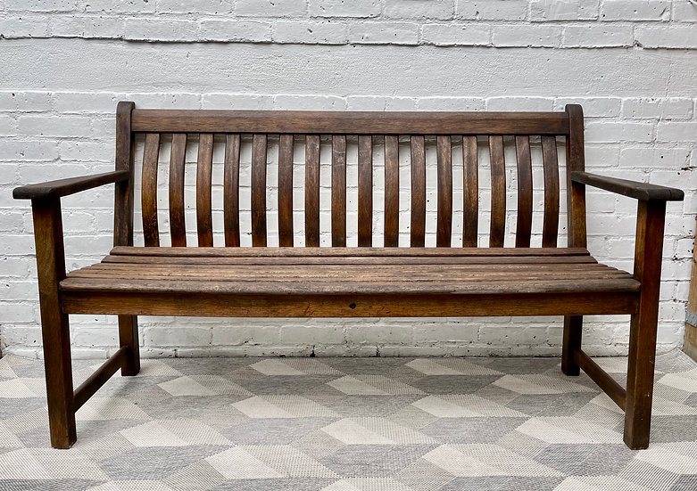 Solid Wood Garden Bench by Alexander Rose